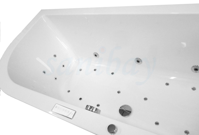 Beispiel 6 Badewanne mit Whirlpool Comfort