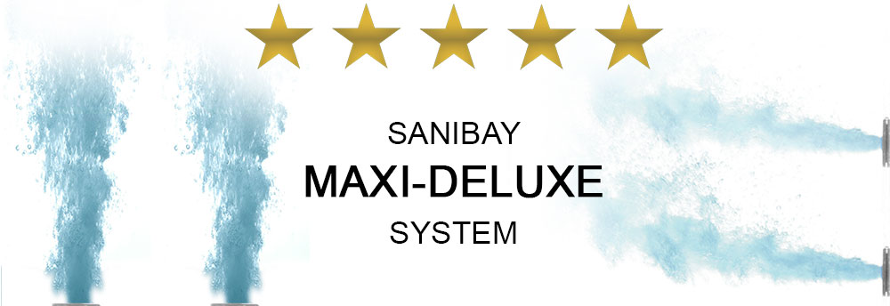 Sanibay Maxi Deluxe Whirlpoolsystem